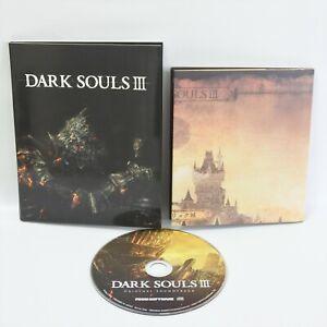 DARK SOULS III 3 Special Map + Original Sound Track Audio CD 1306