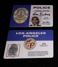Joe Friday DRAGNET Credentials Card #714 Prop Replica