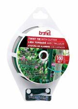 Bond 1161Pdq Gardening Twist Tie Spool With Cutter, Green, 160'