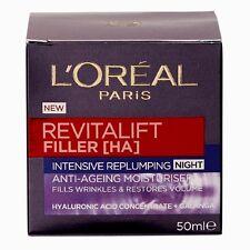 Loreal Revitalift Filler Night Cream 50Ml NEW