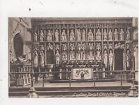 Ludlow Parish Church Reredos Vintage Postcard 626a