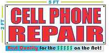 CELL PHONE REPAIR Banner Sign NEW Larger Size Best Price for The $$$