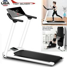 Folding Incline Electric Treadmill Running Motorized Exercise Fitness Machine