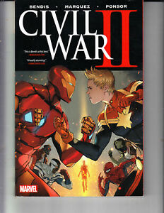 CIVIL WAR II HC HARD COVER GRAPHIC NOVEL NEW NM