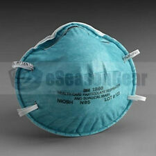 3M 1860 Standard Size N95 Mask, 20/PK, Health Care Medical Surgical Respirator