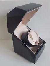 BNIB Rotary Watch Winding Box in Black Enamel with Rotary Winged Logo RRP £160