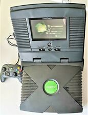 Microsoft Xbox Video Game Console with JoyTech TFT Portable Screen PAL TESTED