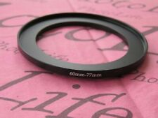 60mm to 77mm Stepping Step Up Filter Ring Adapter 60mm-77mm
