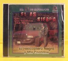 El As de la Sierra : Helicoptero Negro y Mis Corridos - CD Nuevo Sellado RARO