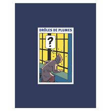 TINTIN MOULINSART HERGE LIVRES 28900 DRÔLES DE PLUMES - ÉDITION LUXE (FR)
