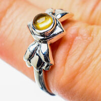 Citrine 925 Sterling Silver Ring Size 6.25 Ana Co Jewelry R25813F