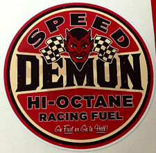 RAT ROD HOT ROD STICKER SPEED DEMON