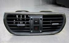 Porsche 911 997 2007 Luftdüse mitte Carbon Leder 99755298001 3S9 seeblau origina
