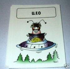 U.F.O  ufo - Games Collector card