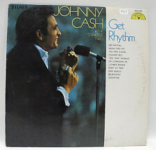 Johnny Cash & The Tennessee Two -Get Rhythm-Vinyl LP-1969 Canada Copy-VG+ Graded