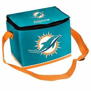 Miami Dolphins Insulated soft side Lunch Bag Cooler New BIg Logo - SunBurst