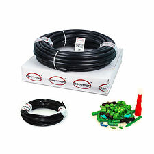 AUTOMATED DRIP IRRIGATION KIT WITH TIMER GARDENING PLANT WATERING 50 PLANTS DIY