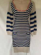 SNOB SANS NOBLESSE PRETTY KNITTED JUMPER DRESS WITH 20 Per Cent Cashmere 10
