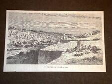 I Lavori nel Canale di Suez nel 1869 Una Trincea Egitto