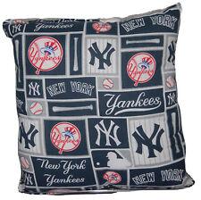 Yankee Pillow New York NYY MLB Pillow Handmade in USA.