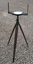 J. S. Trotter (Newcastle) surveyor's mining dial, tripod head and tripod. c1840