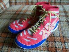 Asics Mens 3 Red White Blue Gold Wrestling Shoes C353Y