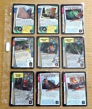 THE X-FILES PREMIERE EDITION CCG/TCG SLEEVE OF 9 x UNCOMMON CARDS  NEW/1996  (B)