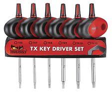Teng Tools 6 PEZZI MINI T-Impugnatura Torx Chiave Set mdm706txt