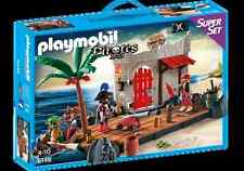 Playmobil ® 6146 superset pirates forteresse neuf emballage d'origine _ pirate fort superset New MISB