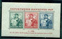 Bizone, Hannover Exportmesse, Block 1 postfrisch **