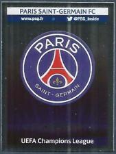 PANINI UEFA CHAMPIONS LEAGUE 2013-14- #170-PARIS SAINT-GERMAIN TEAM BADGE-FOIL