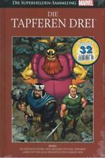 La marvel súper héroes-recopilación 32-los valientes tres, Panini