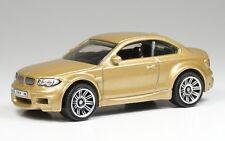 Matchbox BMW 1M (M1) Coupe 1:64 Diecast Gold Long Card
