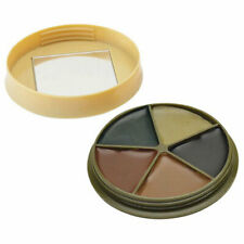 HME 5 Color Camo Face Paint Kit with Mirror