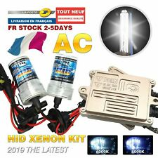Kit Xénon H11 6000K 12V 55W 35W AC blanc Ballast Feux Phare Anti Erreur OBD