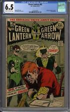 Green Lantern #85 CGC 6.5 (C-OW) Speedy revealed as a junkie. Anti-drug story