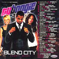DJ TY BOOGIE Blend City 27 Hip Hop R&B RNB Blends Mixtape Mix CD