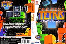Next Tetris: On-Line Edition, The CUSTOM SEGA DREAMCAST CASE (NO GAME)