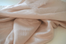 Beautiful Vintage Champagne Nude Blush Hand Woven Silk Tt114