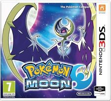Pokemon Moon (Nintendo 3DS) NEW & Sealed - Despatched from London UK