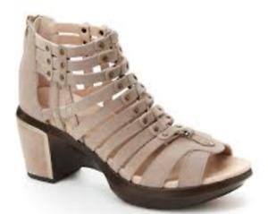 Jambu Sugar Too Taupe Leather Gladiator Sandal Women's sizes 6-10/NEW!!