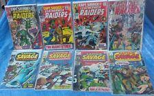 Marvel Comics Captain Savage And His Leatherneck Raiders Lot 2 3 7 8 11 16 17 18
