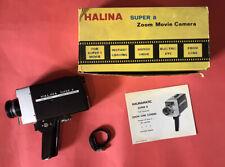 Vintage Halina Super 8 Zoom Movie Camera 8mm Boxed Cine Camera