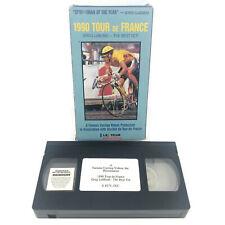 Tour De France 1990 Cycling Bike Race Vintage Vhs Tape ft Greg Lemond 90 minutes
