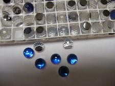 18 swarovski crystal 3/4 flatback disco balls,10mm bermuda blue Z #4869