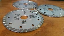 3 PCS 4 1/2 inch Diamond Saw Blade , Wet 5/8 or 7/8 inch arbor, 4.5""