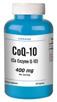 CoQ-10 CoEnzyme Q-10 400mg High Potency 120 Capsule USA SHIP Heart Health =SALE=