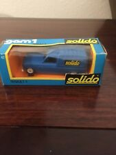 SOLIDO Renault 4 Delivery Van Truck Die-Cast