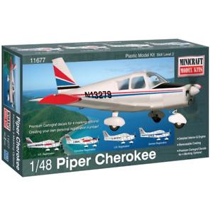 Minicraft 11677 1/48 Piper Cherokee Brand New