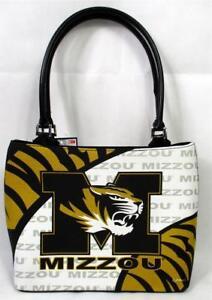 Missouri Tigers Ladies Vortex Fashion Purse Tote Handbag Game Day NCAA A-15
